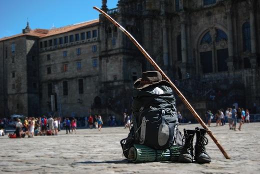 Santiago de Compostela - Mochila de peregrino