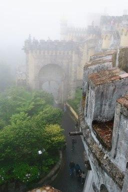 Sintra - Palacio da Pena - Entrada principal