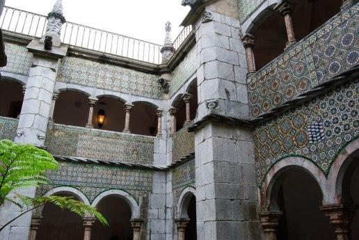 Sintra - Palacio da Pena - Patio Manuelino
