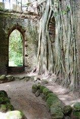 Falsa capilla en ruinas